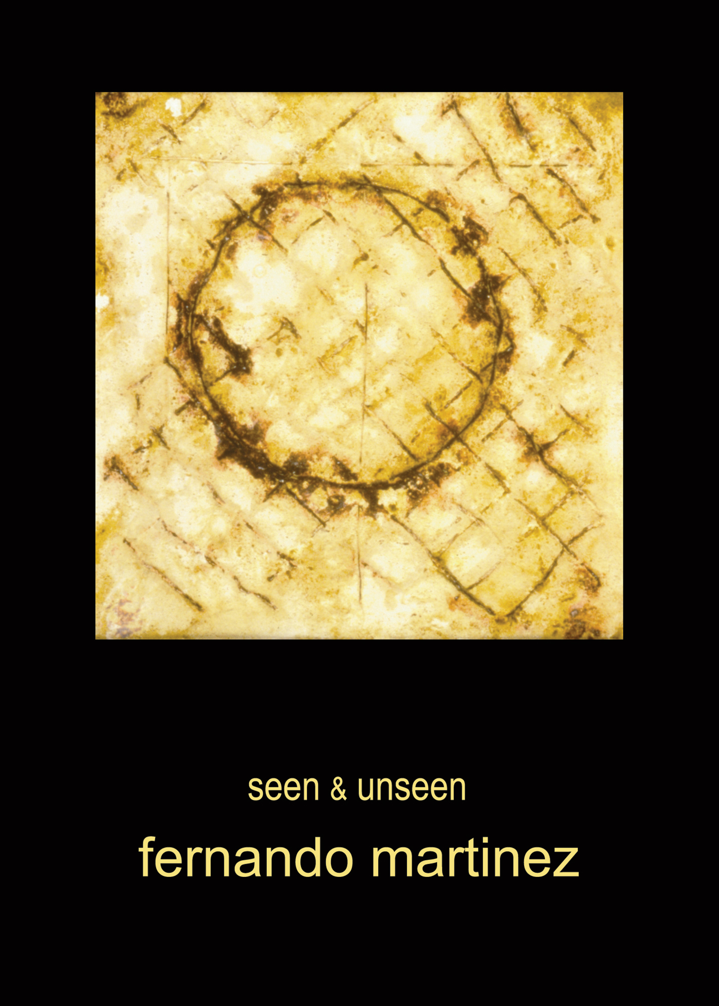 Past Exhibition - Seen and unseen with Fernando Martinez
